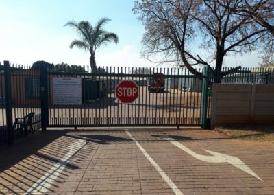 Secure and Fully paved Surroundings
