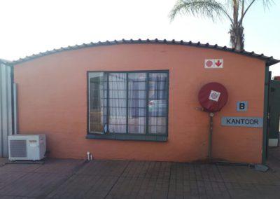 Mega Storage Facility Offices